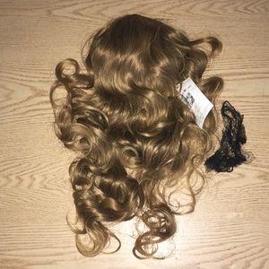 New Brown Mix Long Hair Piece Everyday Costume Etc